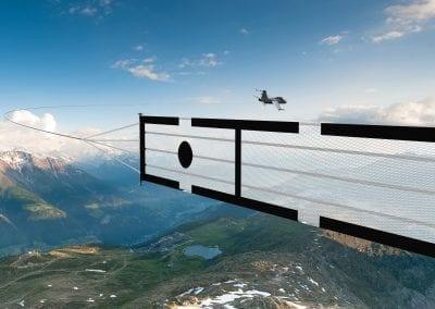 Avião carregando alvo aéreo 3